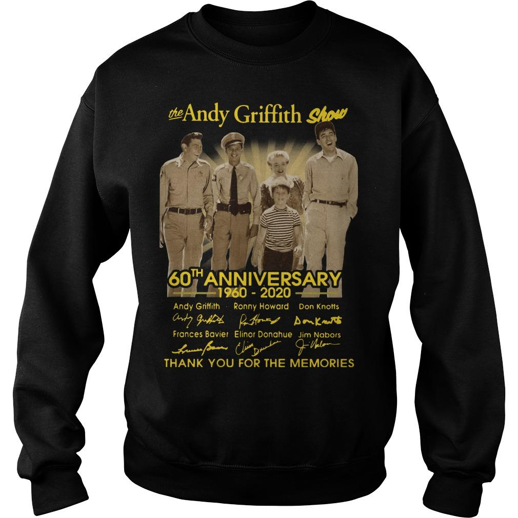 The Andy Griffith Show 60th Anniversary Thank You For The Memories Sweater