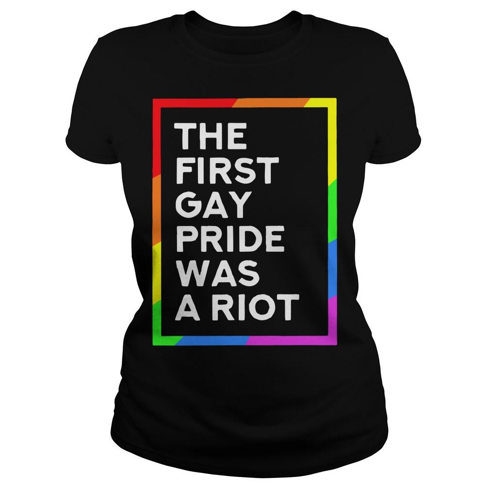 The First Pride Was A Riot Longsleeve