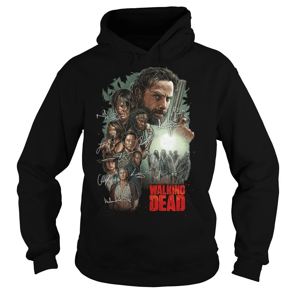 The Walking Dead Signatures Hoodie