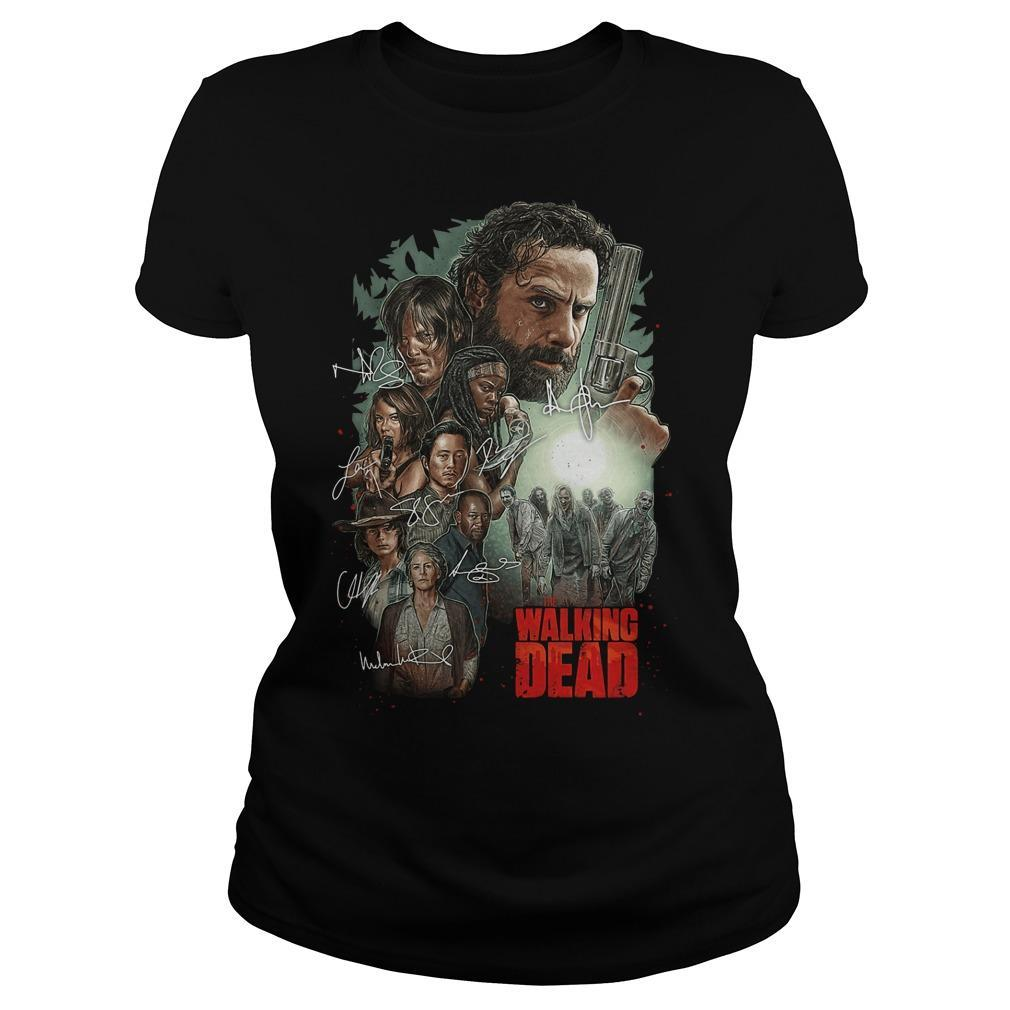 The Walking Dead Signatures Longsleeve