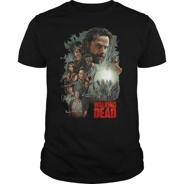 The Walking Dead Signatures Shirt
