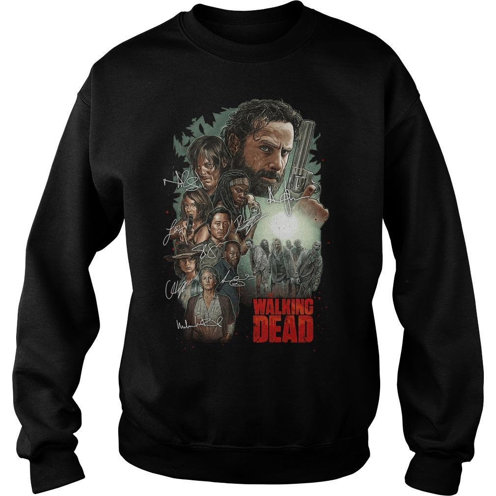 The Walking Dead Signatures Sweater