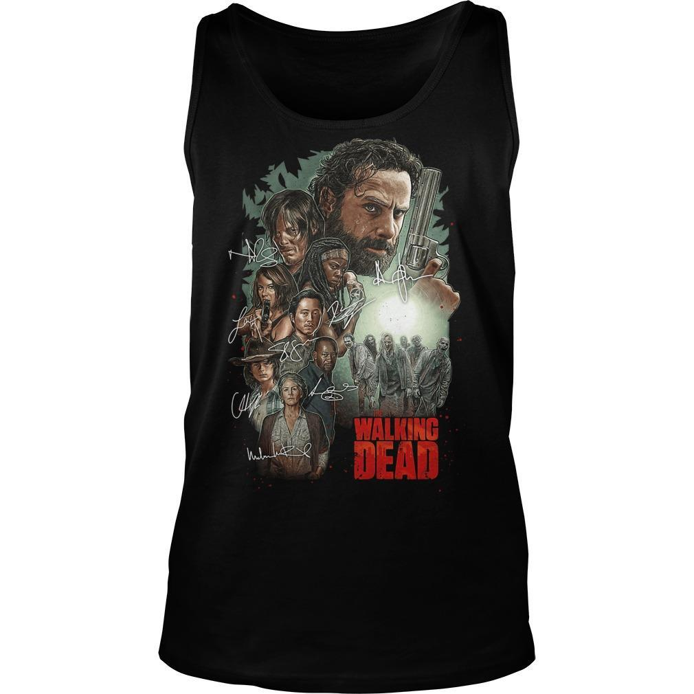 The Walking Dead Signatures Tank Top