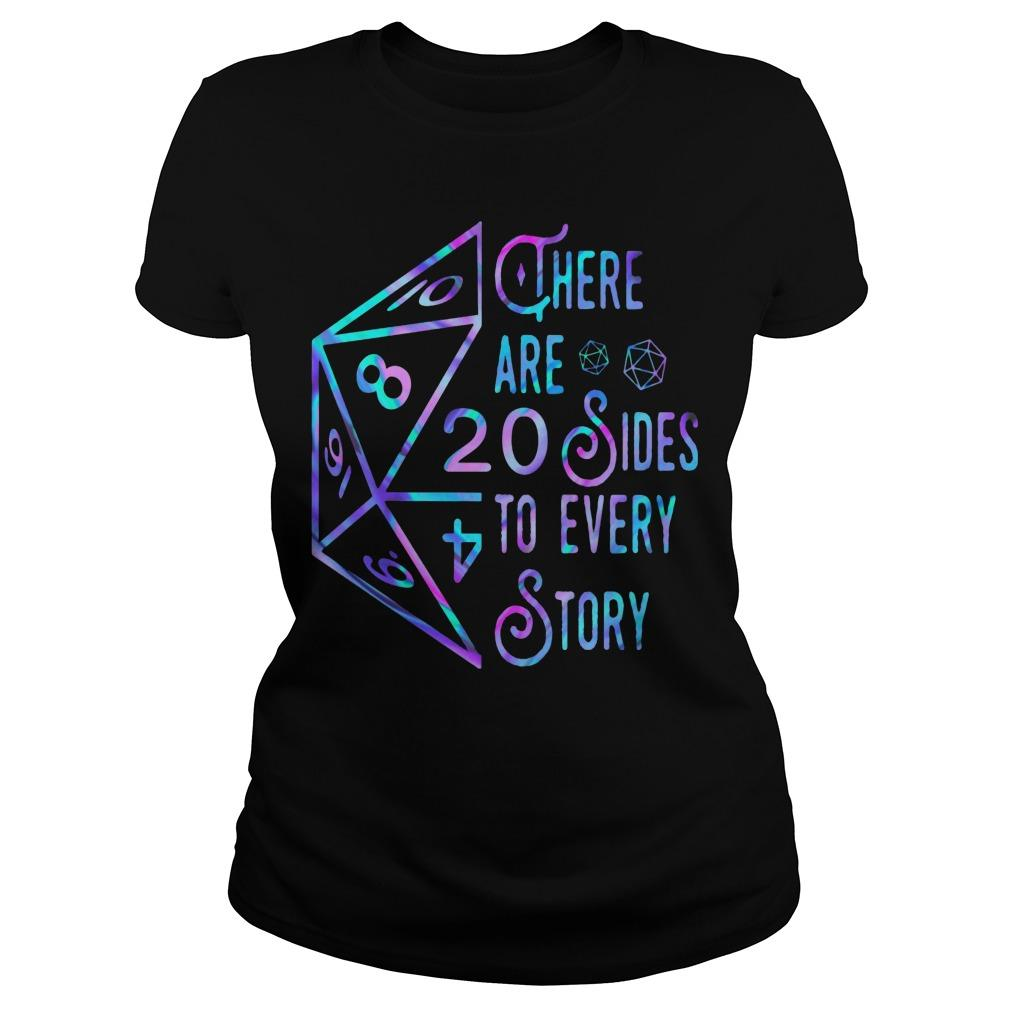 There Are 20 Sides To Every Story Longsleeve