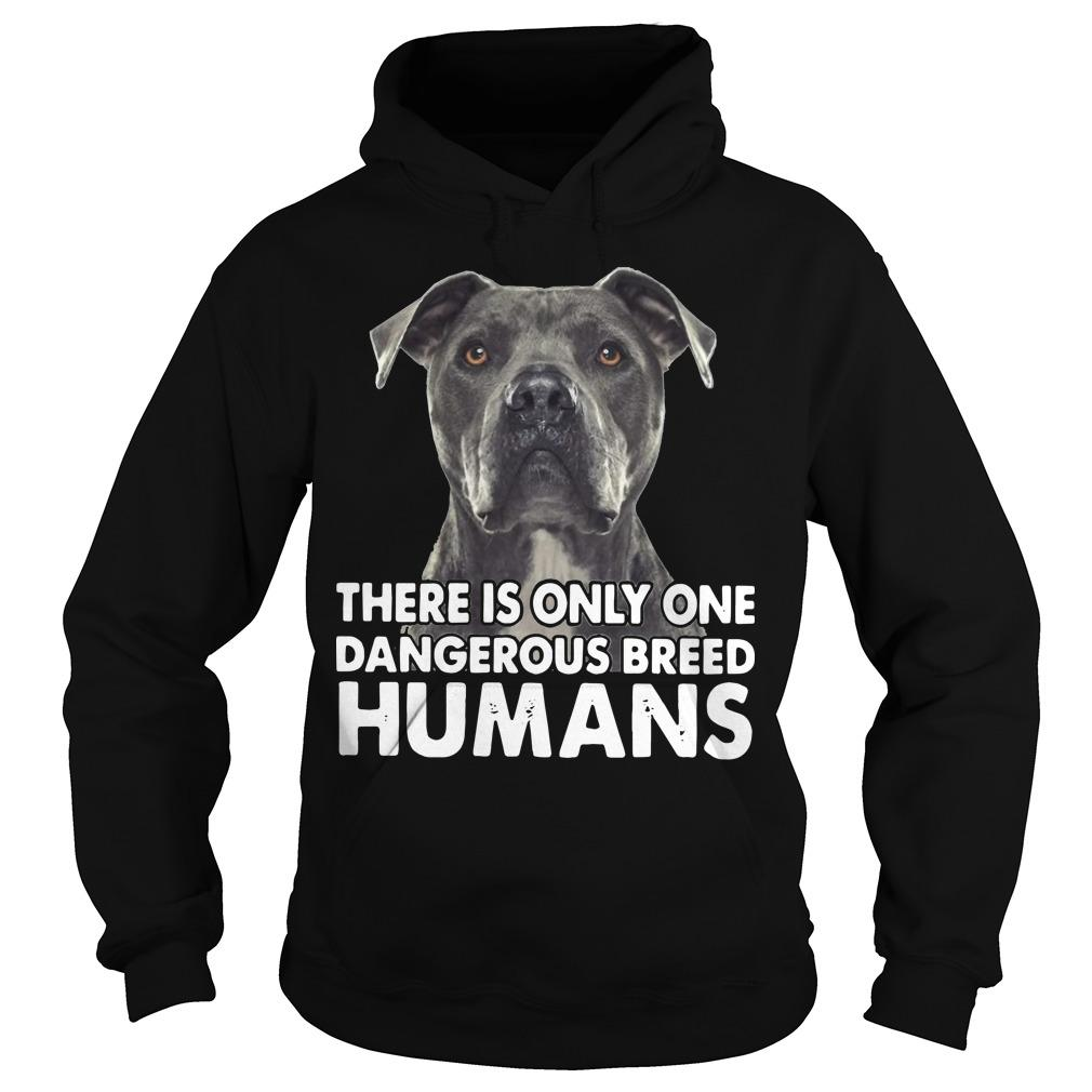 There Is Only One Dangerous Breed Humans Hoodie