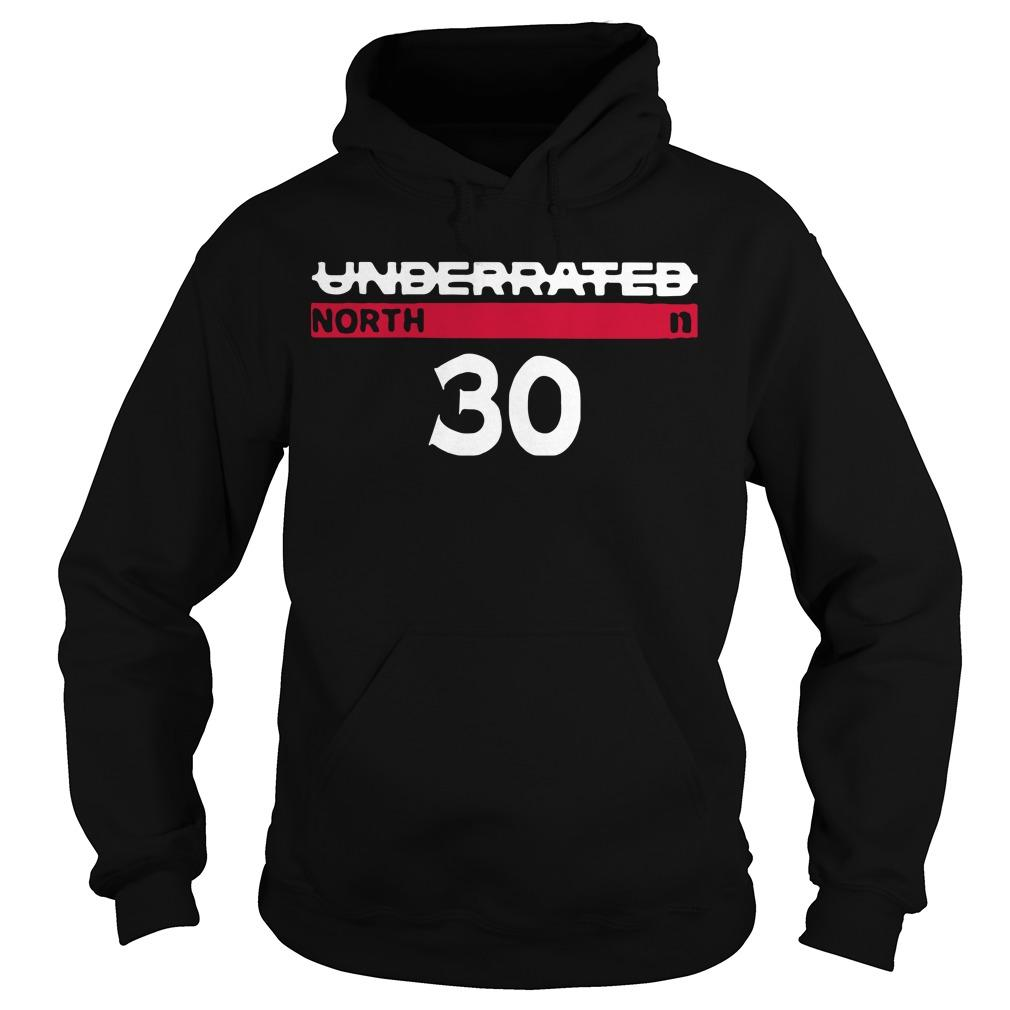 Underrated North 30 Stephen Curry Hoodie