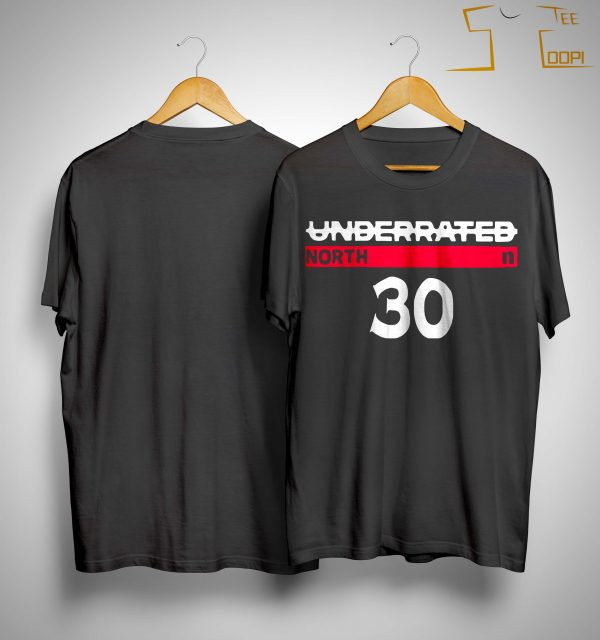 Underrated North 30 Stephen Curry Shirt