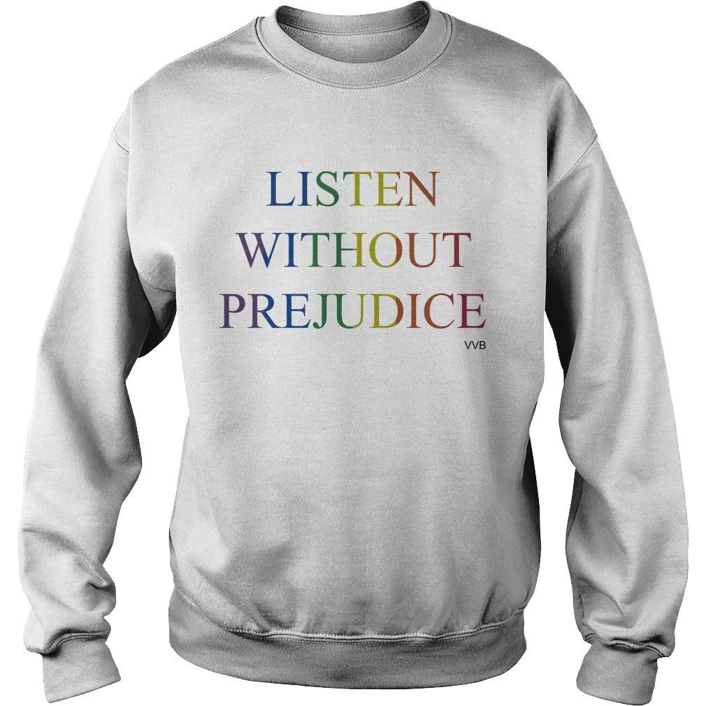 Victoria Beckham Listen Without Prejudice T Sweater