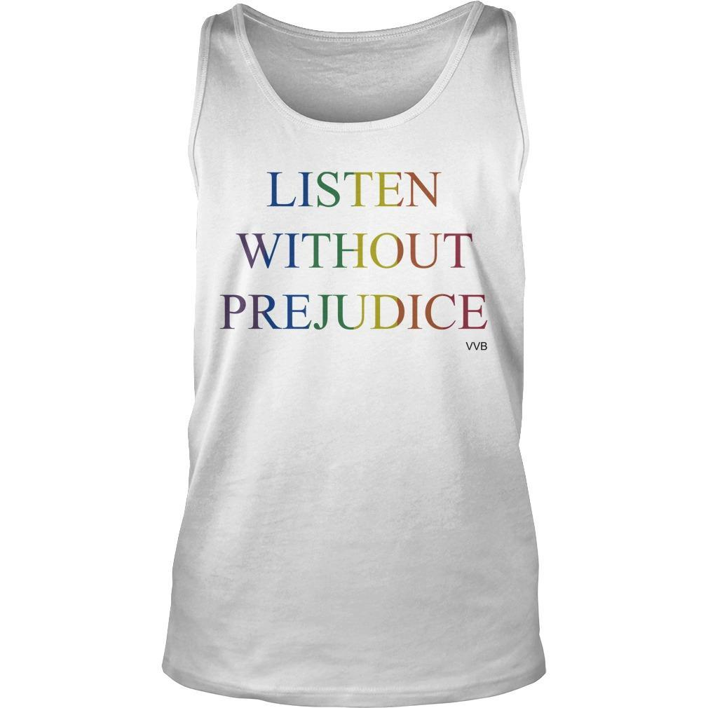 Victoria Beckham Listen Without Prejudice T Tank Top
