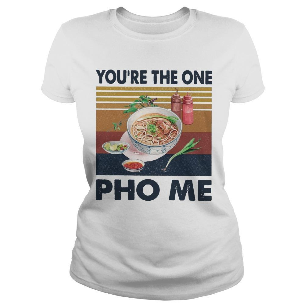 Vintage You're The One Pho Me Longsleeve