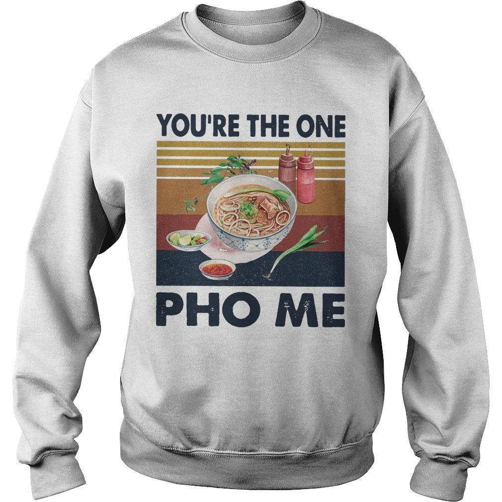 Vintage You're The One Pho Me Sweater