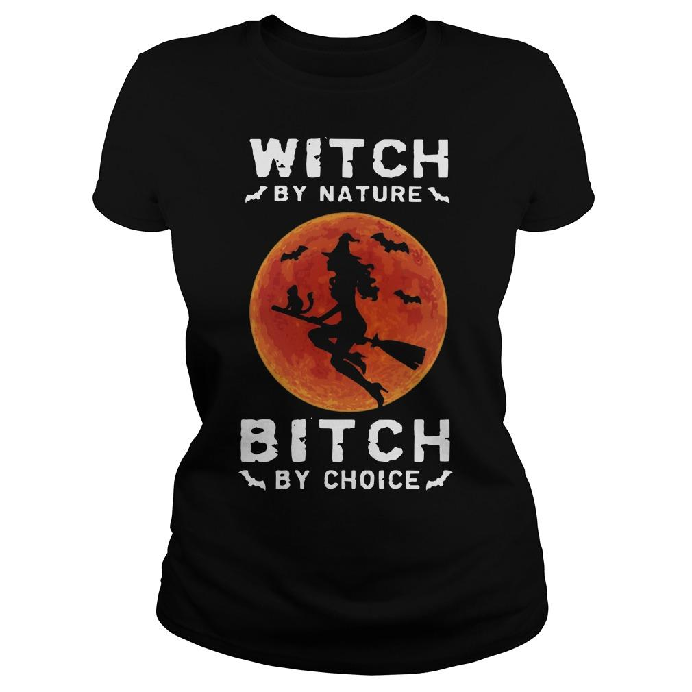 Witch By Nature Bitch By Choice Longsleeve