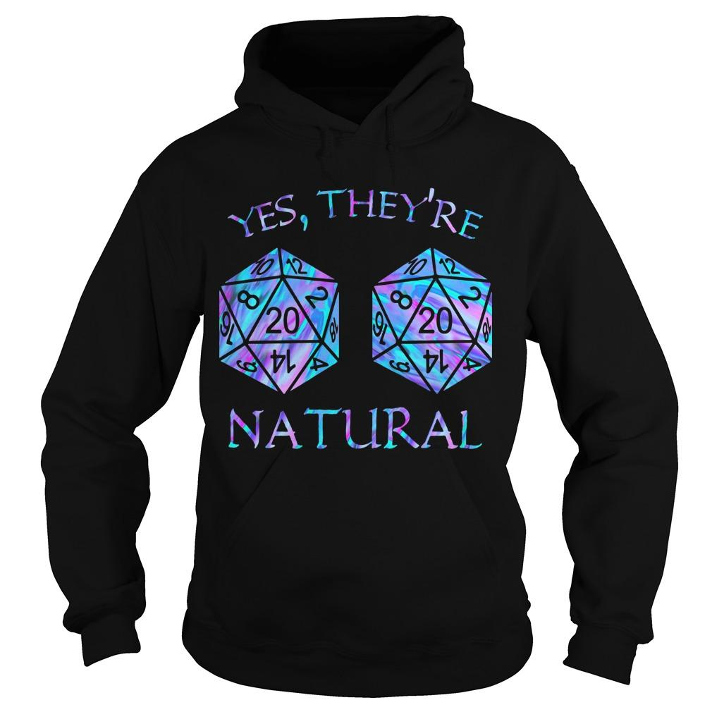Yes They're Natural Hoodie