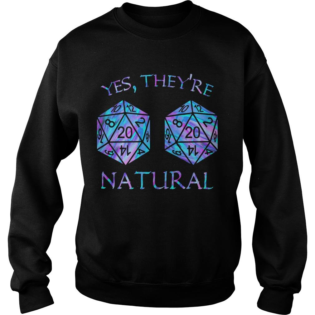 Yes They're Natural Sweater