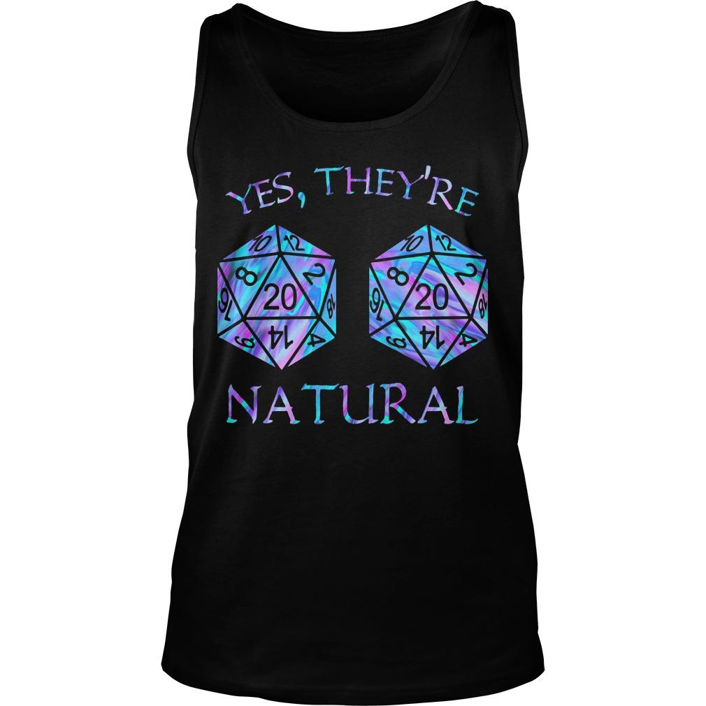 Yes They're Natural Tank Top