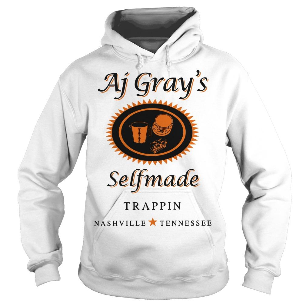 AJ Gray's Selfmade Trappin Nashville Tennessee Hoodie