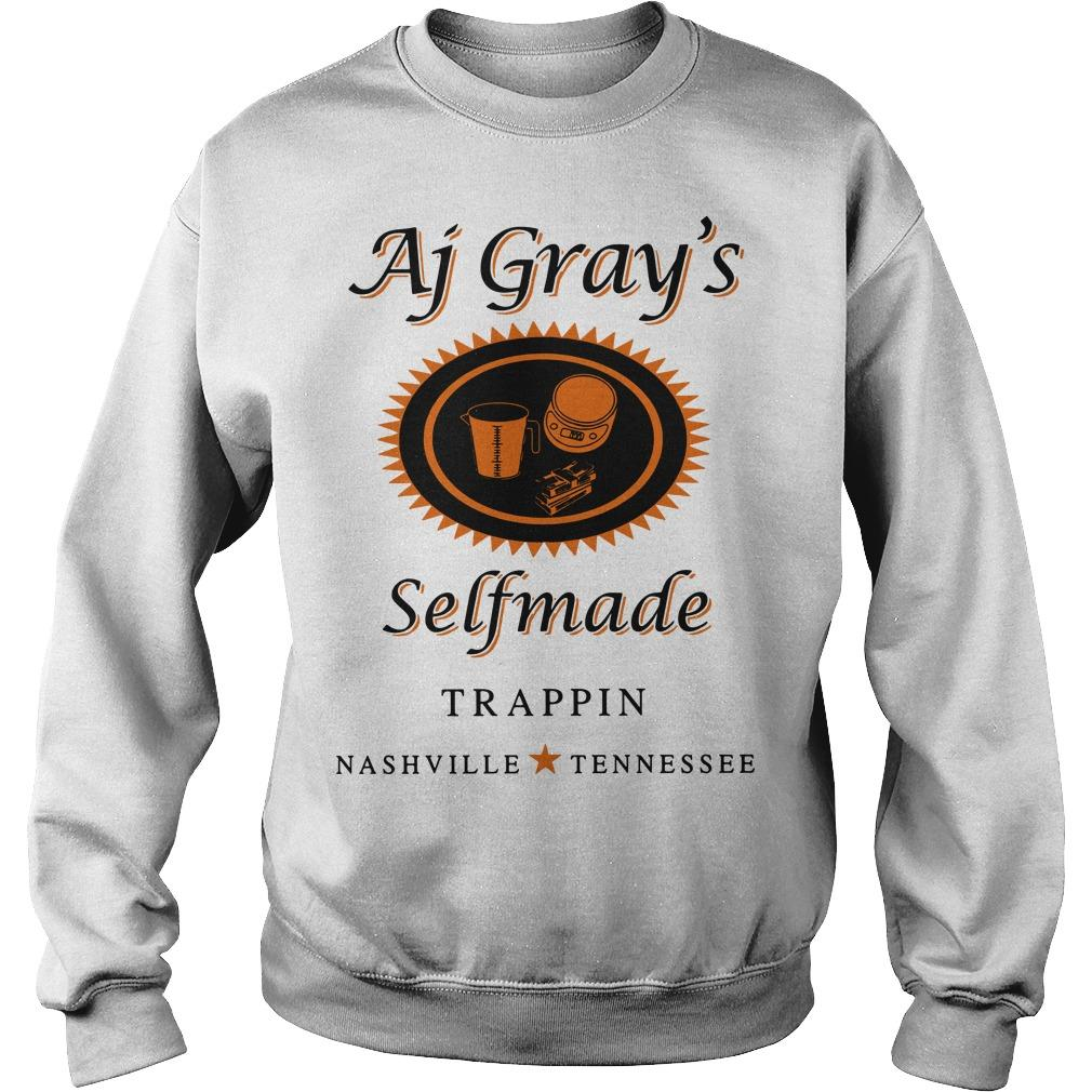 AJ Gray's Selfmade Trappin Nashville Tennessee Sweater