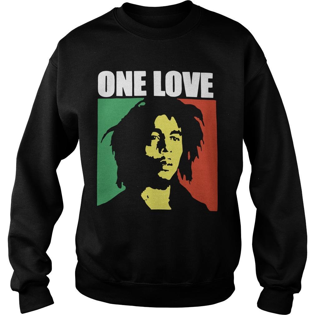Bob Marley One Love T Sweater