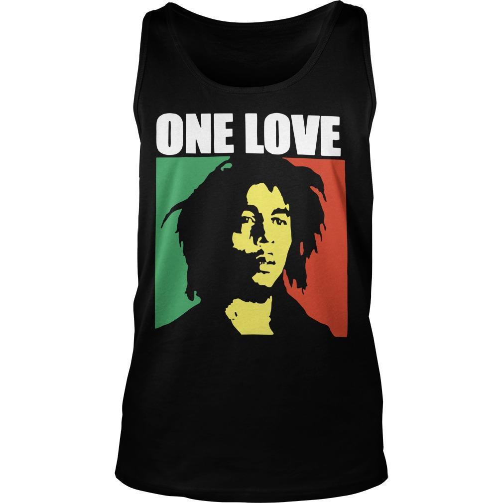 Bob Marley One Love T Tank Top