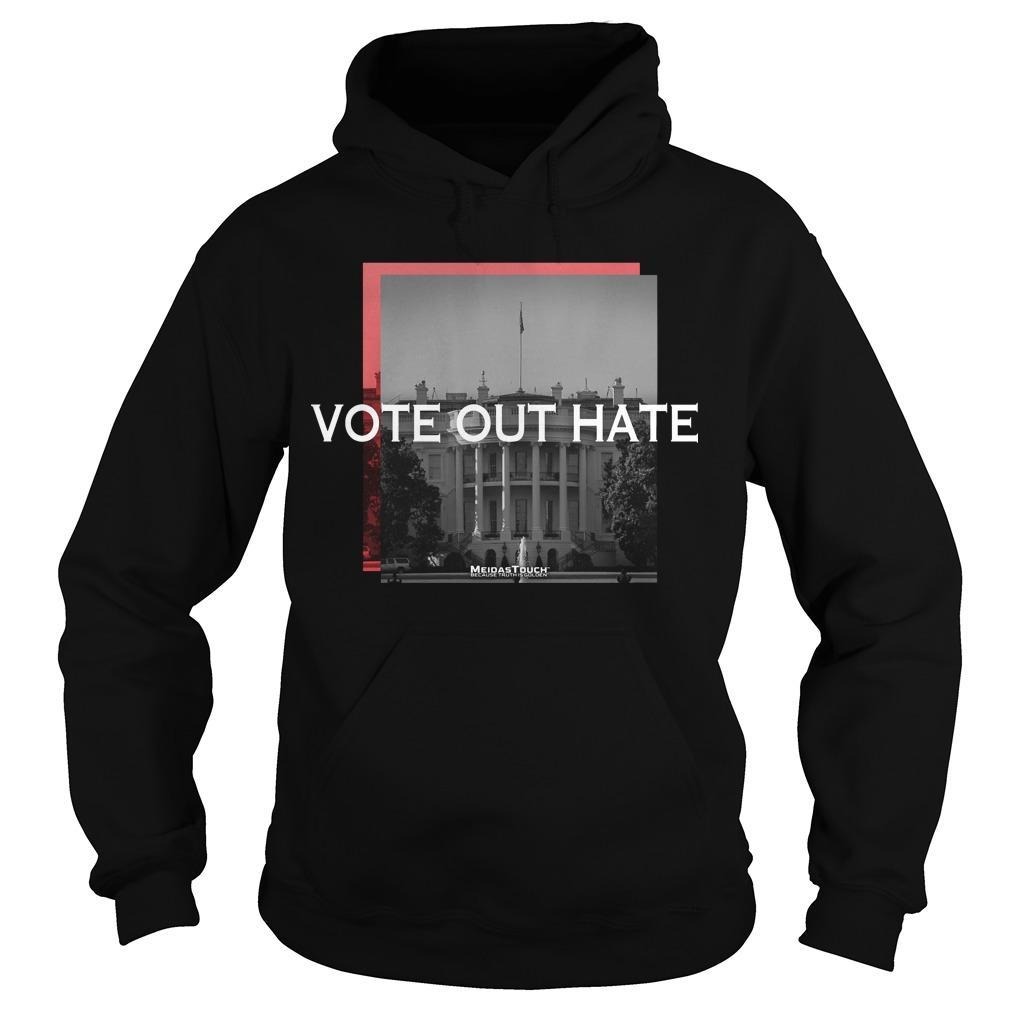Brett Meiselas Vote Out Hate Hoodie
