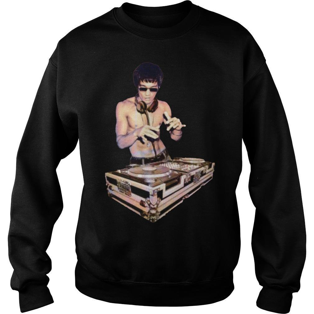 Bruce Lee T Dj Sweater