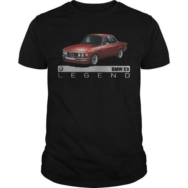 Car Bmw E9 Legend Shirt