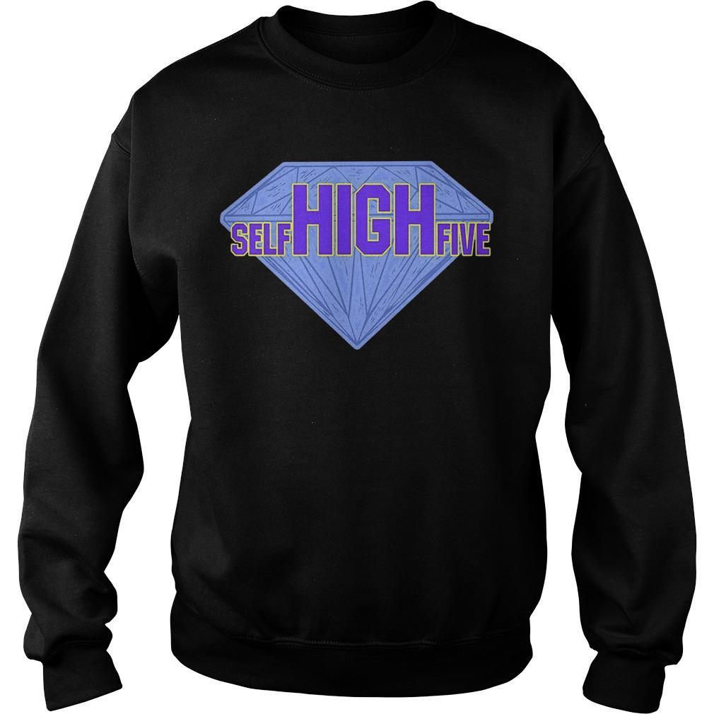 Diamond Dallas Page Self High Five Sweater