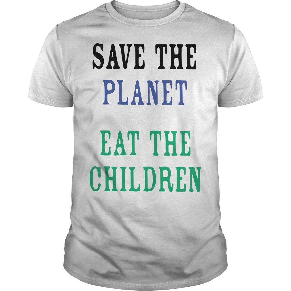 Eat The Planet Save The Children Tank Top