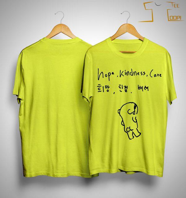 Exo Kai Hope Kindness Care Shirt