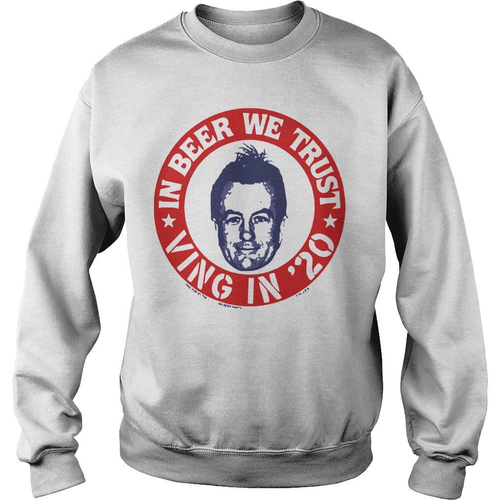 Fear Lee Ving In Beer We Trust Sweater