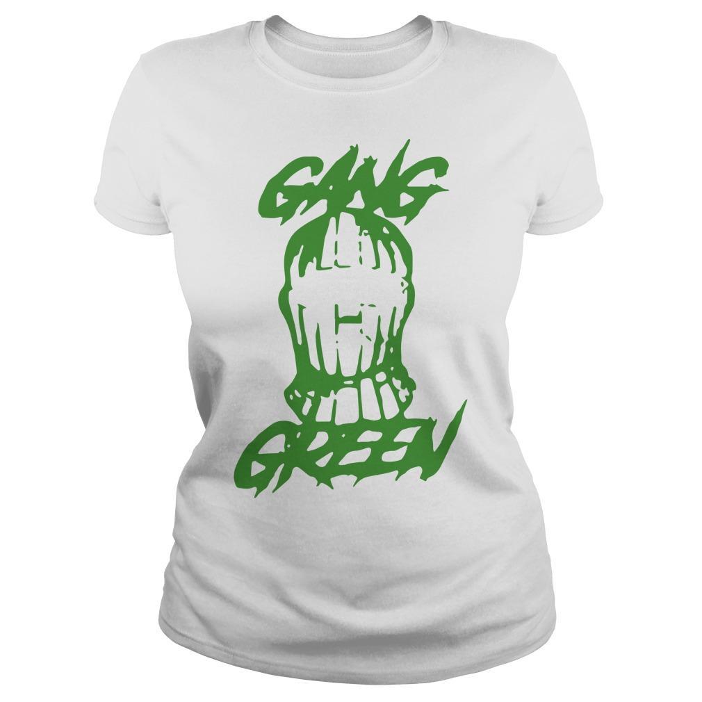 Gang Green Mask Longsleeve