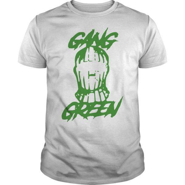 Gang Green Mask Shirt