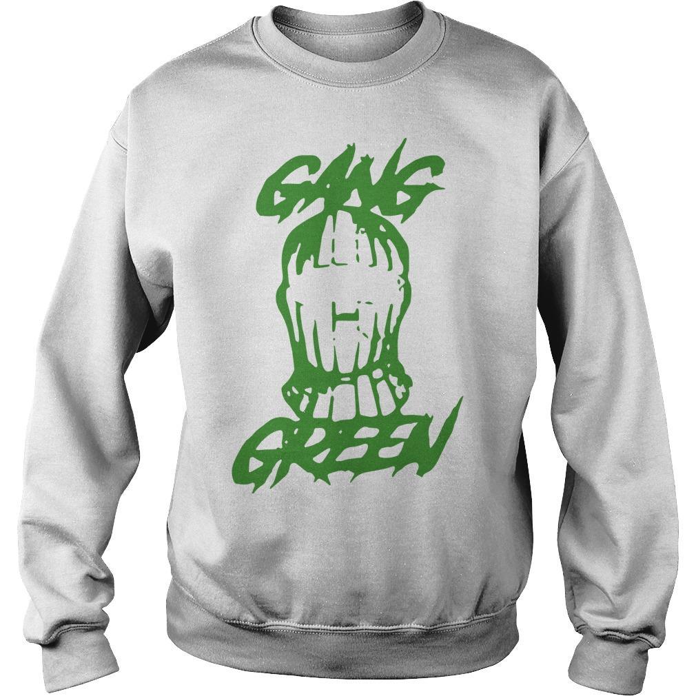 Gang Green Mask Sweater