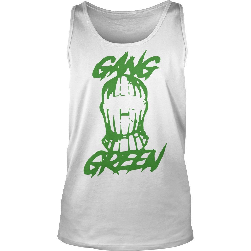 Gang Green Mask Tank Top