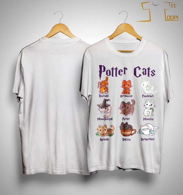 Harry Potter Cats Shirt