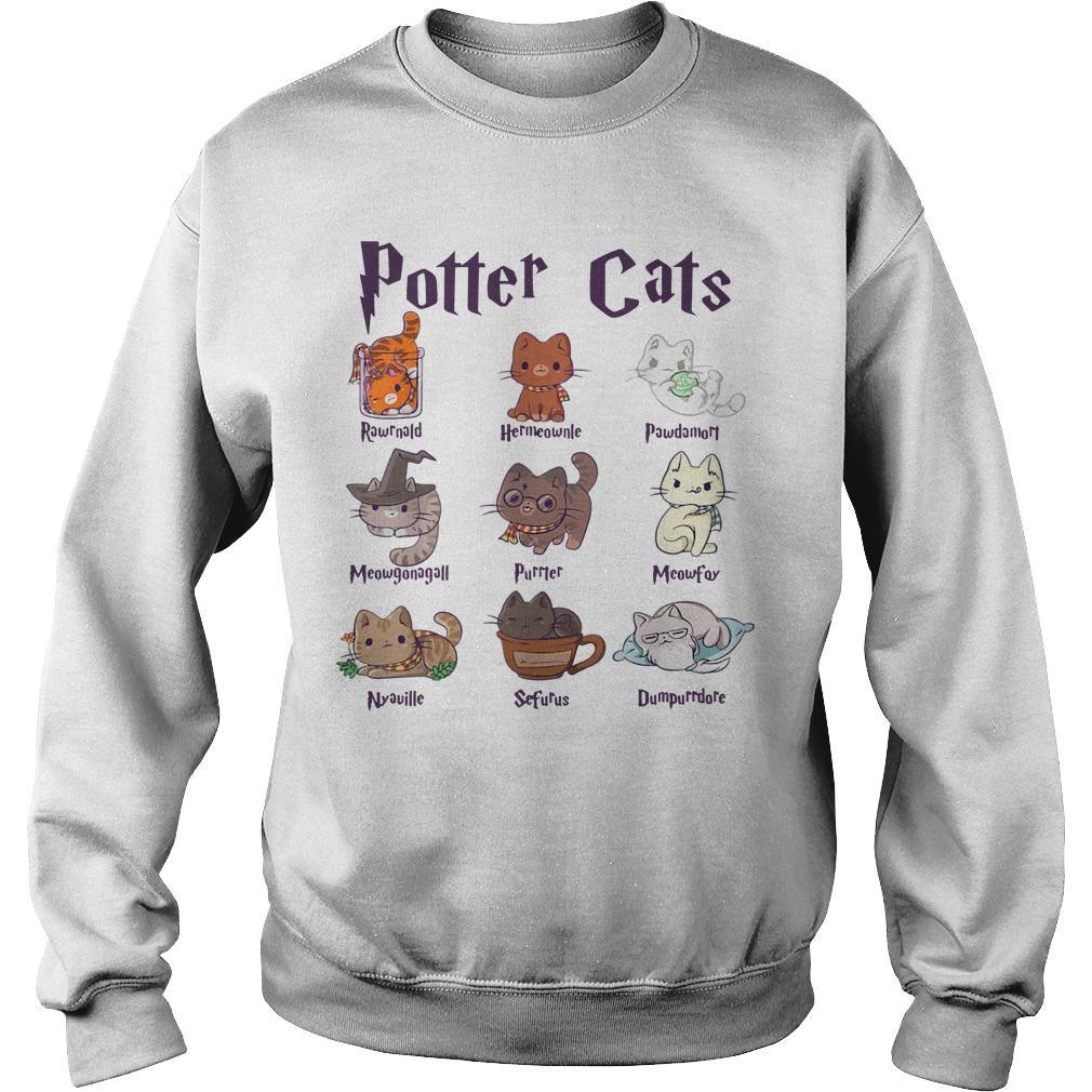Harry Potter Cats Sweater