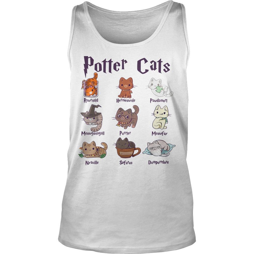 Harry Potter Cats Tank Top