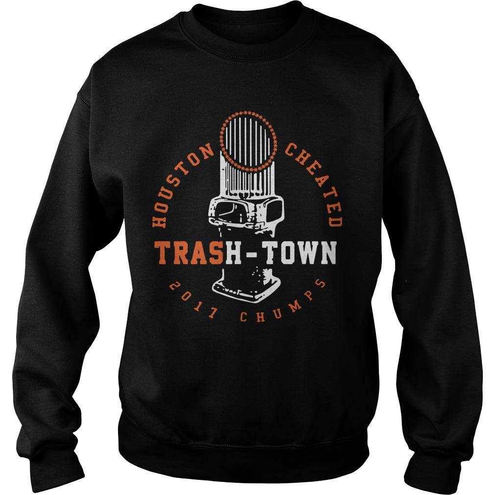 Houston Cheated Trash Town Sweater