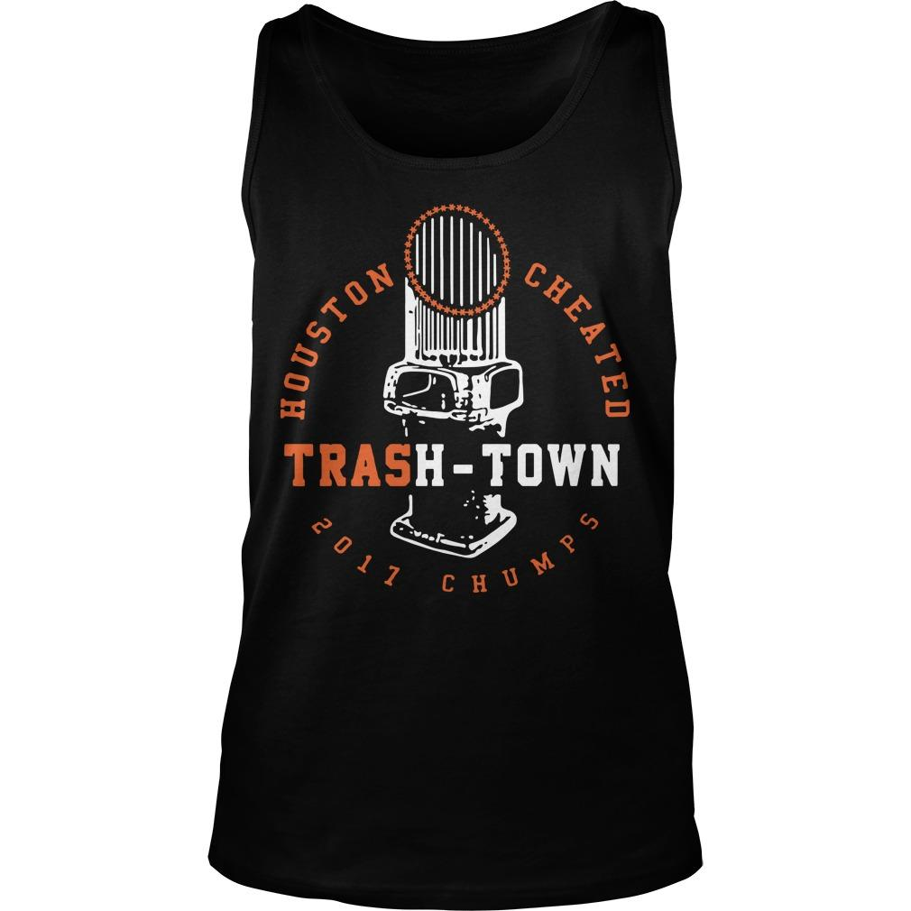 Houston Cheated Trash Town Tank Top