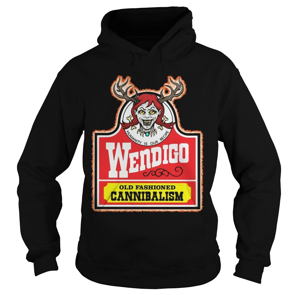 Humanity Is Our Recipe Wendigo Old Fashioned Cannibalism Hoodie