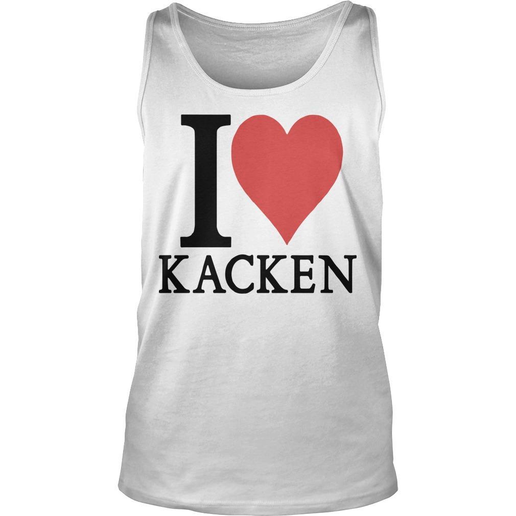 I Love Kacken Tank Top