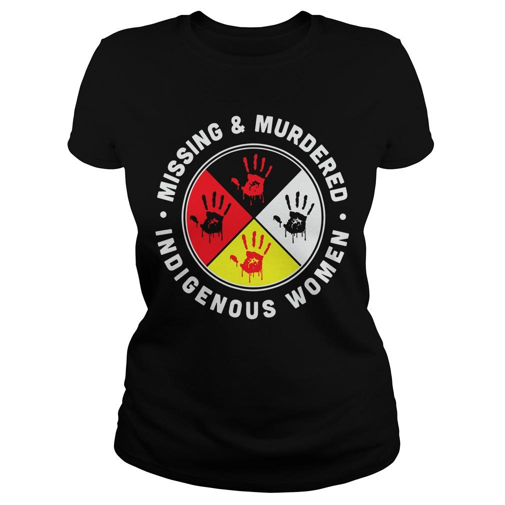 Indigenous Women Missing And Murdered Longsleeve