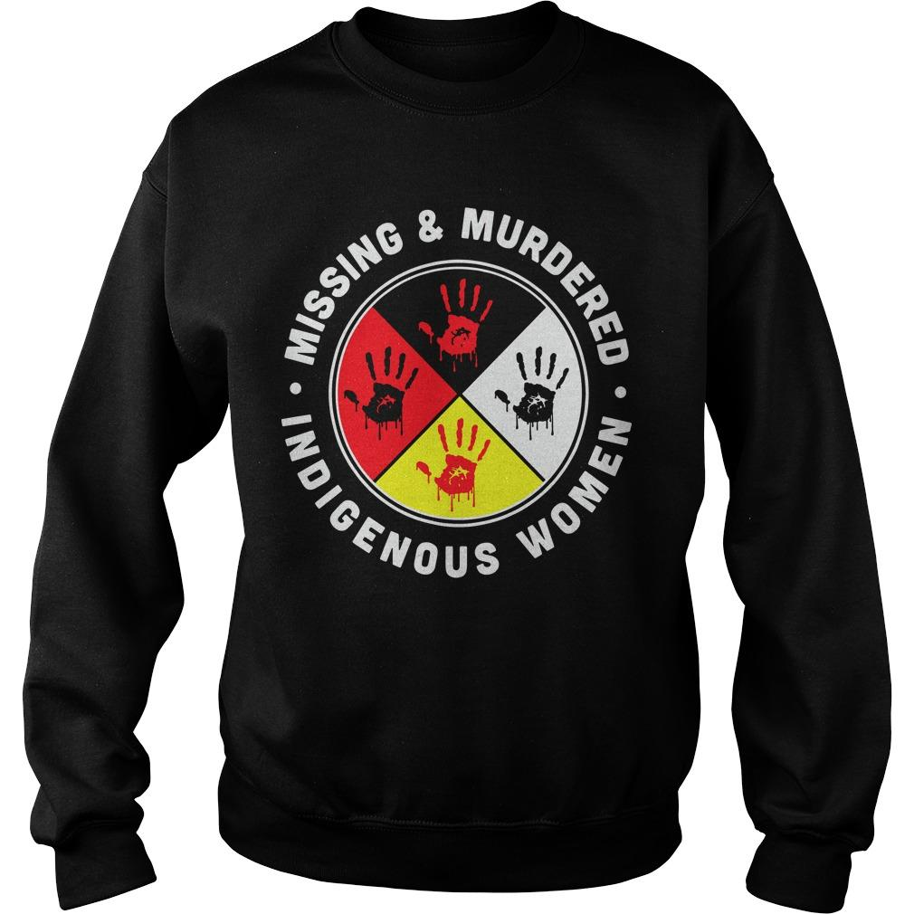 Indigenous Women Missing And Murdered Sweater