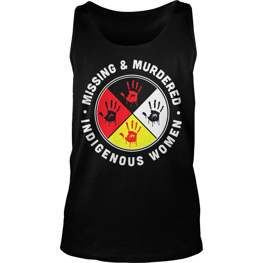 Indigenous Women Missing And Murdered Tank Top