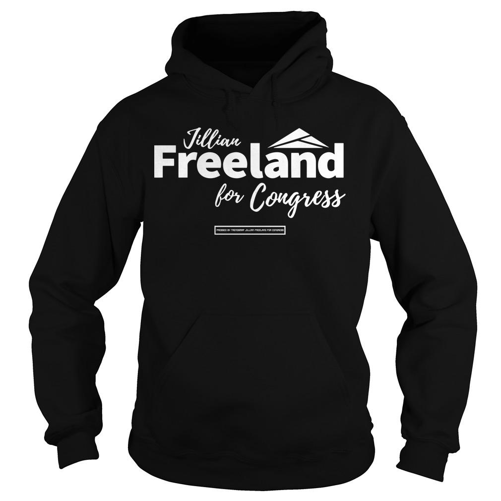 Jillian Freeland For Congress Hoodie