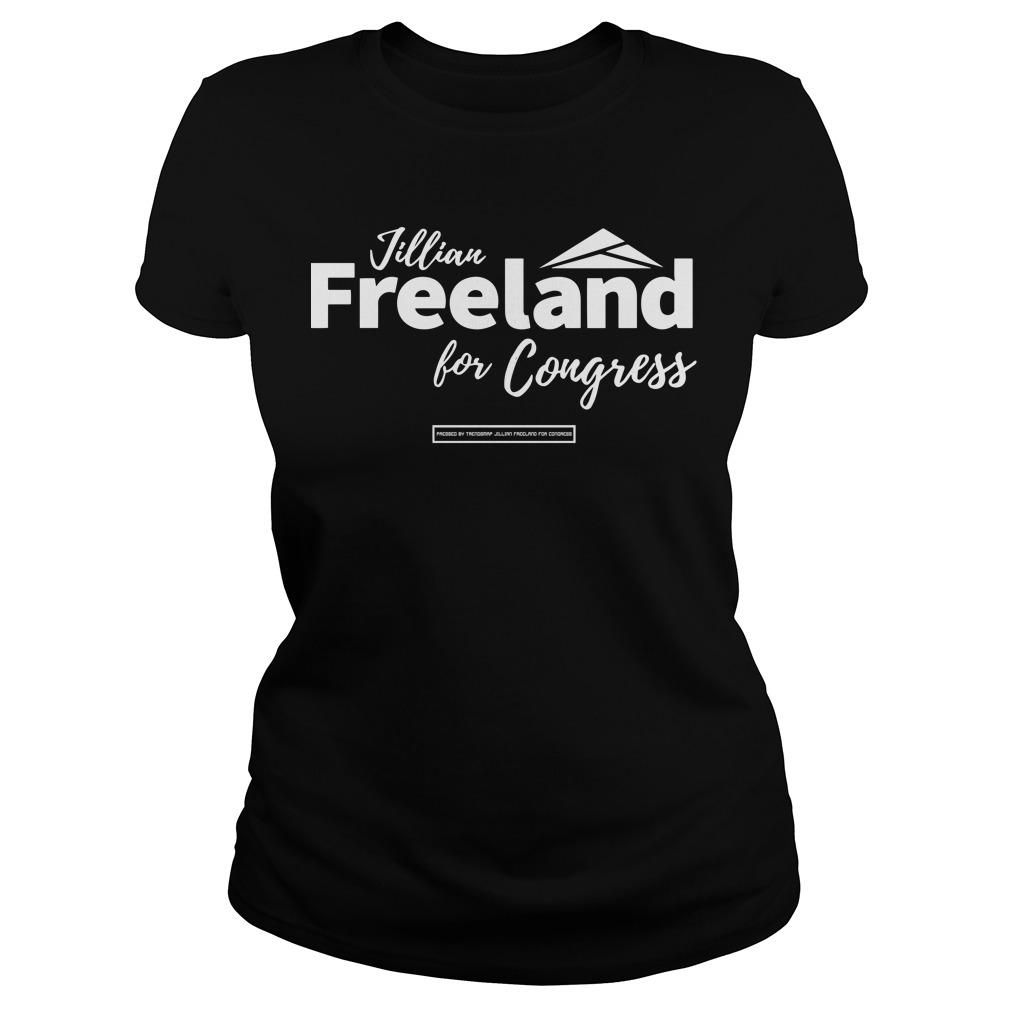 Jillian Freeland For Congress Longsleeve