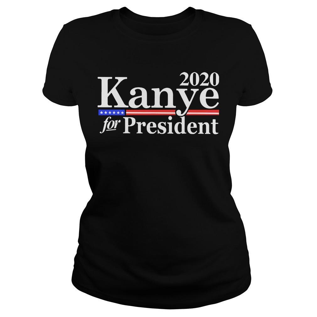Kanye For President 2020 Longsleeve