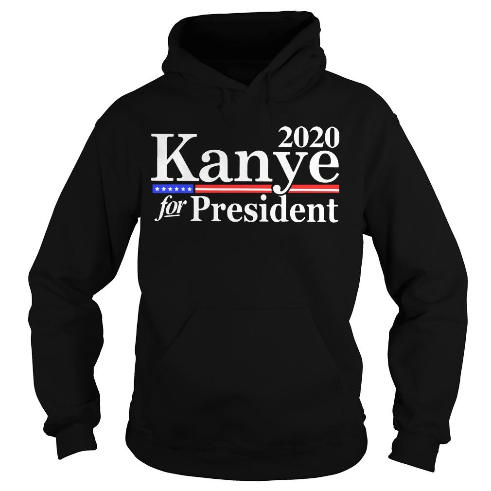 Kanye West For President Hoodie