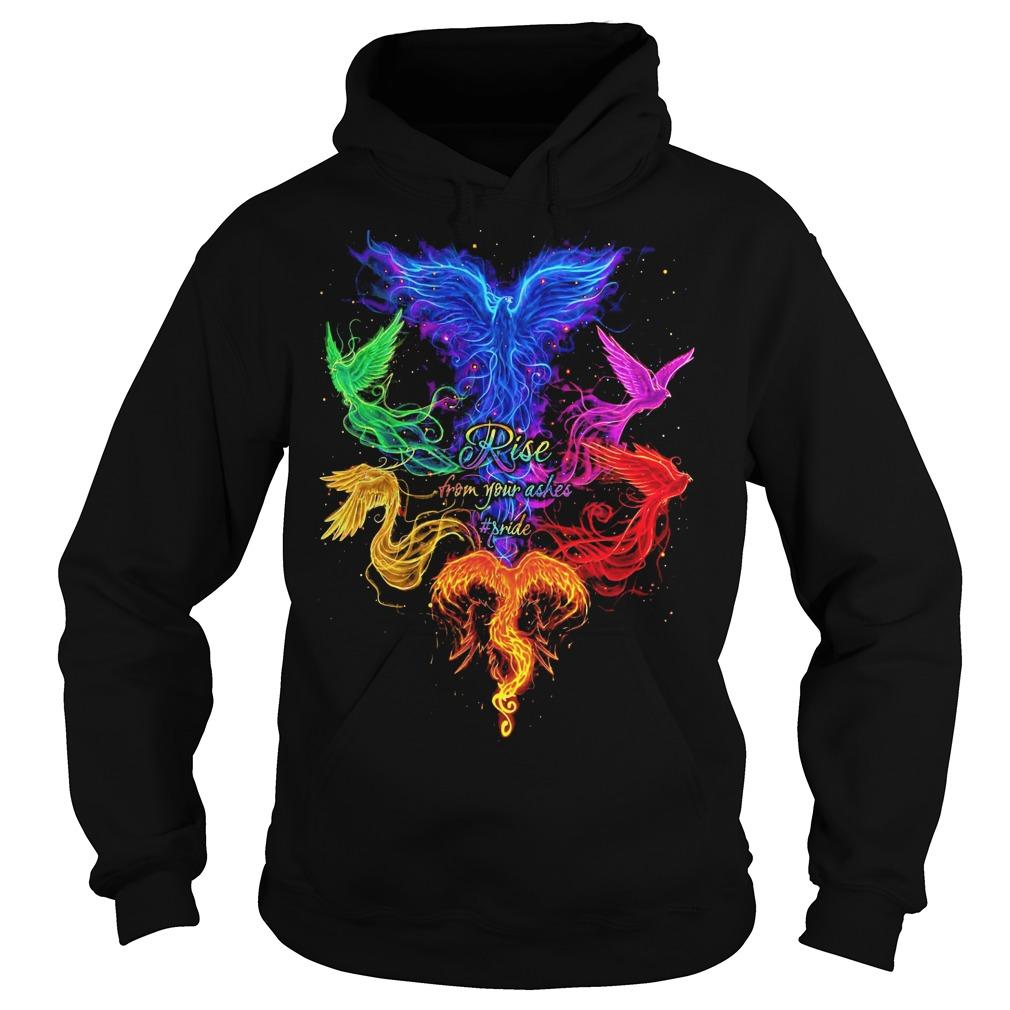 Lgbt Rise From Your Ashes #pride Hoodie