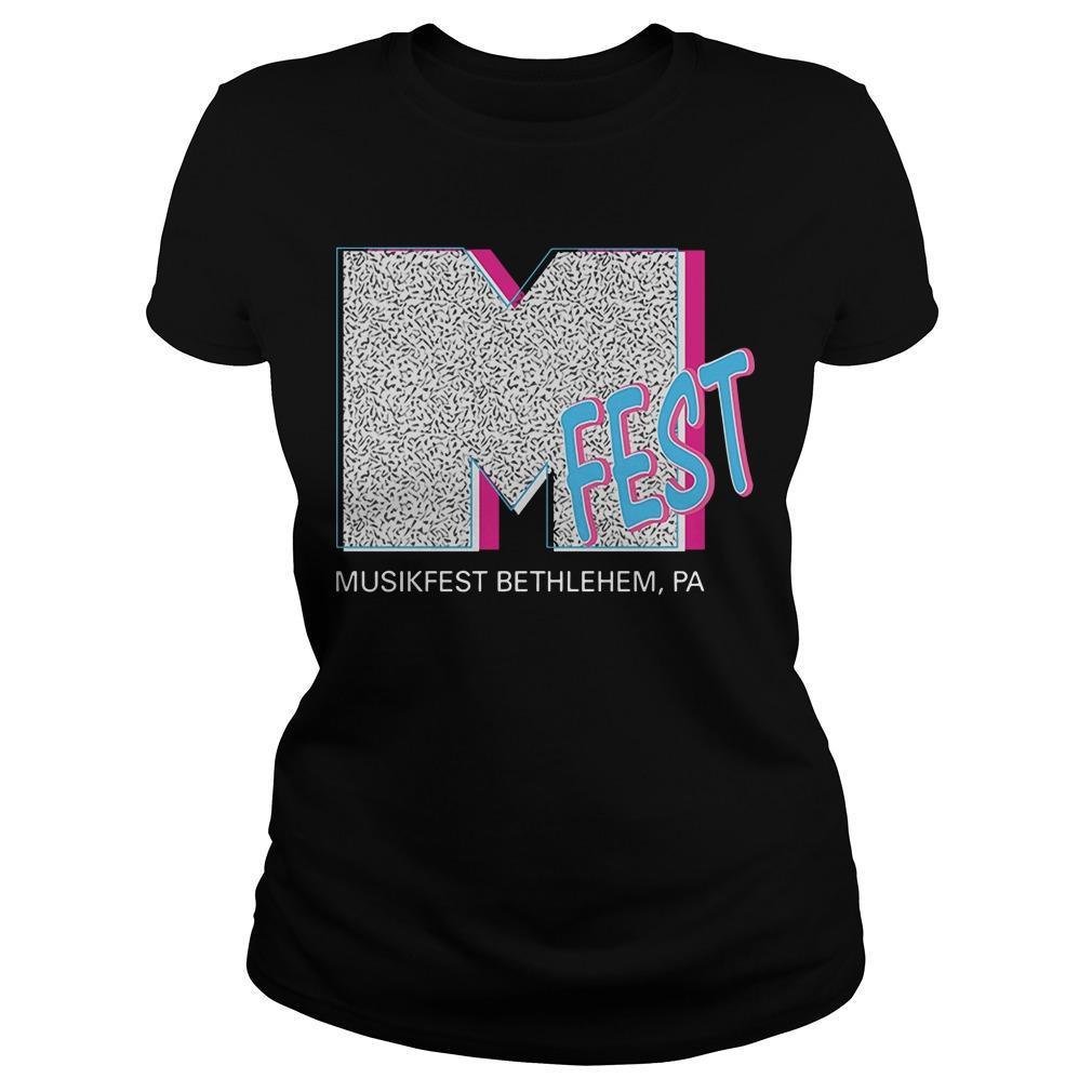 M Fest Musikfest Bethlehem Pa Longsleeve